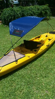 Get your BLUE bimini top from Adventure Canopies.