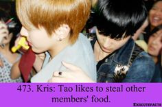 Exo fact ~ Not even surprising .. xd #Tao #exo