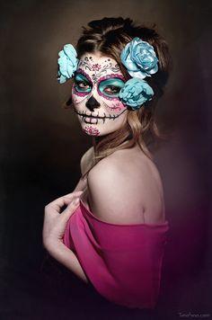 Sugar Skull Makeup by ~bumbastix on deviantART