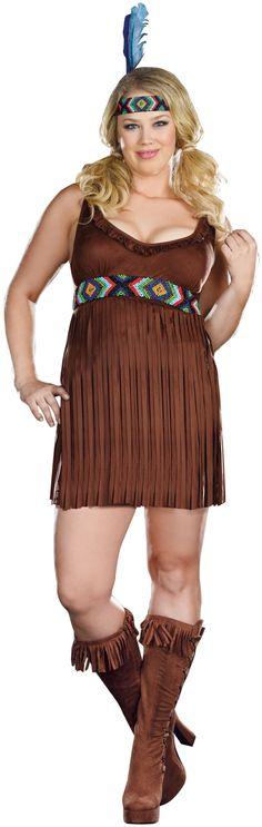 Tribal Trouble Adult Plus Costume - 1X/2/X