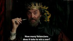 King Richard in Galavant