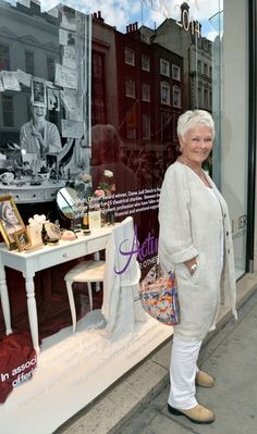 Judi Dench Photos: Fenwick of Bond Street Celebration - (this site leads to a photostream of our dear Judi at different events)