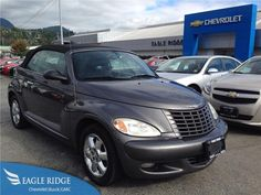 2005 Chrysler PT Cruiser Touring FWD Auto w/ Convertible Top for sale at Eagle Ridge GM in Coquitlam, near Vancouver!  http://eagleridgegm.com http://facebook.com/eagleridgegm http://twitter.com/eagleridgegm