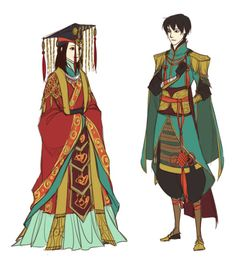 Eastern Character Concepts (1)