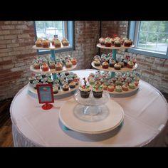 Three Cupcake Stands