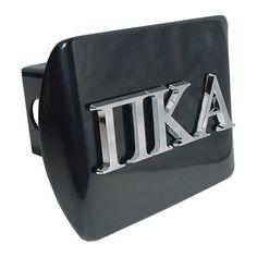 Pi Kappa Alpha Fraternity Black Hitch Cover