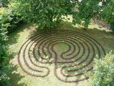 Backyard labyrinth; why we need geometry