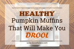 Try these healthy pumpkin muffins for a boost of vitamin A and seasonal cheer. Add some chocolate chips for an extra sweet treat. Muffins, Sources Of Vitamin A, Healthy Pumpkin, Eating Well, My Recipes, Yum Yum, Cheer, Vitamins, Sweet Treats