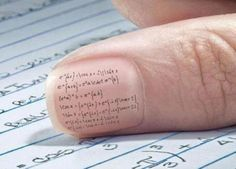 10 Cleverest Ways To Cheat on a Test - Oddee.com (cheating, test...)