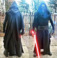 My husband is working on a Kylo Ren costume - Imgur