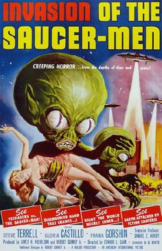Invasion Of The Saucer Men.....1957