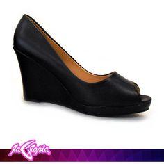 Unos #Zapatos que te hacen el #Look para la #Oficina #Calzado #Femenino #Tacon #Cuña 1er.Semi-Piso