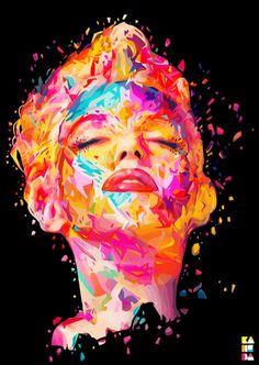 A arte em cores abstratas por Alessandro Pautasso