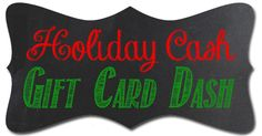 Win $100 on #BlackFriday with Holiday Cash Gift Card Dash!
