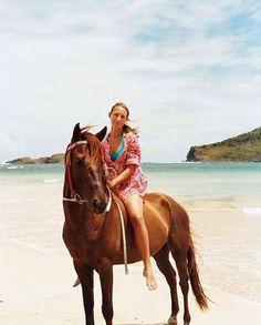 On Anse de Sables beach #StLucia #Caribbean #Luxury #Travel Gateway VIPsAccess.com                                       Ride a horse on the beach