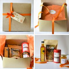 Breakfast in Bed Gift Box | $50. For the woman who does it all. It's time to give her a morning to relax! Available on manykitchens.com: