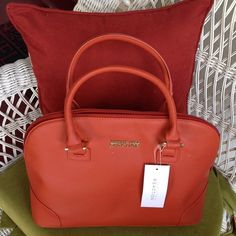 "Selling this ""A beautiful dark Orange Bag"" in my Poshmark closet! My username is: barrantes. #shopmycloset #poshmark #fashion #shopping #style #forsale #Kenneth Cole Reaction #Handbags"