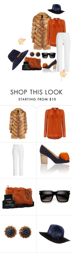 """""""""""Fall"""" for it, warth, and don't call off at work"""" by theschmidttribe on Polyvore featuring Alexander McQueen, Ghost, Roland Mouret, Minna Parikka, Chanel, River Island and Eugenia Kim"""