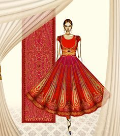 A perfect addition to an Indian bride's trousseau!