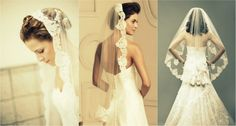 Mantilla Mania - Chatty Brides - Southern New England Weddings - ChattyBrides.com