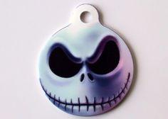 Jack Metal Pet ID Tag. $12.00, via Etsy.