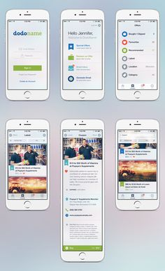 iPhone Coupon App from Plain to Stunning by Sasha Radojevic