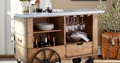 Miejsce na alkohol w domu-barek, szafka, minibar? 50 inspiracji!