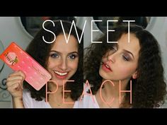 #beauty #makeup #youtube #bbloggers #sweetpeach #thesweetpeachpalette #toofaced #tf #girl #tutorial #eyeshadow #palette #sweetpeachglow