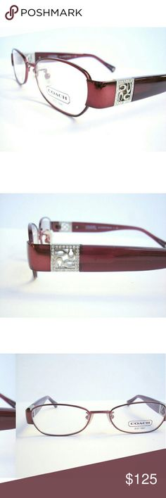 Coach Eyeglasses Authentic Coach Eyeglasses  Burgundy frame  Size 49-16-135 Includes original case Coach  Accessories Glasses