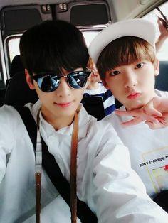 EunWoo and SanHa