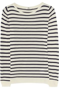 DAY Birger et Mikkelsen | Striped merino wool-blend sweater | NET-A-PORTER.COM