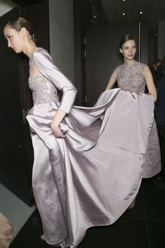 Elie Saab Haute Couture Spring 2013 * Backstage