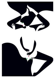 Yin & Yang by MALIKA FAVRE