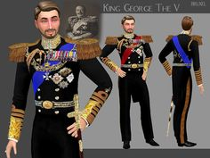 Army Service Uniform The Sims 4 _ - Clove share Asia Royal Clothing, Sims 4 Clothing, Male Clothing, Maxis, Army Service Uniform, Sims4 Clothes, Sims 4 Dresses, Queen Outfit, Royal Dresses