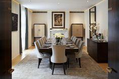 Dining Room, Hyde Park Home - Morpheus London @morpheuslondon London Luxury interior design, projects and interiors, best interior designers UK. For more inspiration: www.bocadolobo.com/en/news-and-events