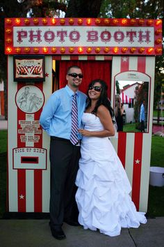 A photo booth like this would be awesome! Take pics as favor?