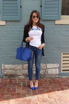 Big blue bloggers - Glitter & Gingham
