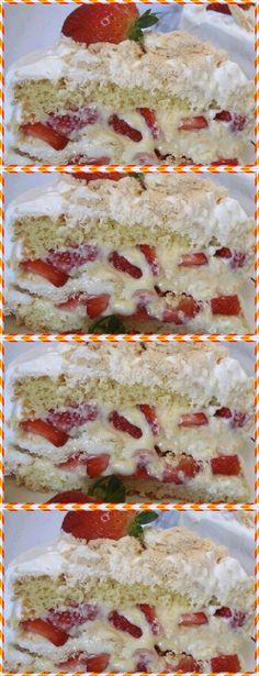 Na batedeira, bata os ovos e o açúcar por 15 minutos. Continue batendo e adicione a água.#receita#bolo#torta#doce#sobremesa#aniversario#pudim#mousse#pave#Cheesecake#chocolate#confeitaria# Sweet Life, I Love Food, French Toast, Sandwiches, Bread, Cooking, Breakfast, Continue, Recipes