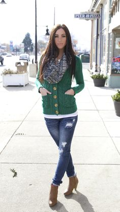 New color in this POPULAR cardigan!!