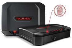 VAULTEK Biometric Bluetooth Smart Pistol Safe with Auto-Open Lid and Rechargeable Battery Fingerprint Gun Safe, Gun Safe Diy, Liberty Safe, Biometric Lock, Best Handguns, Safe Door, Electronic Lock, Diy Nightstand