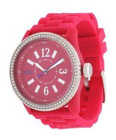 Wunderschöne Armbanduhr der Marke Esprit. Armband-Farbe: hellrot Armband-Material: Silikon Armbandbreite (cm): 2.2 Display-Anzeige: analog Gehäuse Durchmesser ca. (mm): 42 Gehäuse-Material: Edelstahl, Kunststoff Gehäuseabmessungen (l x b x h cm): 4,2 x 4,2 x 1,1 Gewicht (g): 47 Glasart: Kunststoffglas Look/Optik: feminin Material: Edelstahl, Silikon, Synthetik Schmuck-Verschluss: Dornschließe Uhr-Funktionen: Uhrzeitangabe Wasserdicht bis (bar): 3 Zifferblatt-Farbe: hellrot