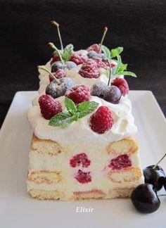 Нежен и сочен плодов десерт,колкото отлежава,става по-вкусен.