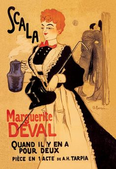 Scala - Marguerite Deval, by Adrien Barr
