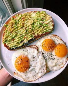 Healthy Breakfast Recipes, Healthy Snacks, Healthy Eating, Healthy Meal Prep, Healthy Drinks, Manger Healthy, Comidas Fitness, Plats Healthy, Food Goals