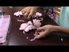 Mulher.com 09/02/2015 Pingente borboleta para cortina por Karina Raszl Parte 2 - YouTube