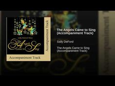 The Angels Came to Sing (Accompaniment Track) Sally Deford Music, Laura Ingalls Wilder, Childhood Memories, Christmas Time, Singing, Angels, Diy, Bricolage, Angel