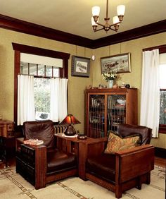 Craftsman Style Home Interiors | ... home, there are ways to add ...