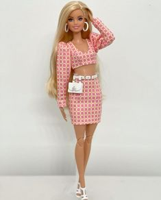 Barbie Dress, Creative Crafts, Fashion Show, Two Piece Skirt Set, Outfits, Poses, Skirts, Cute, Clothes