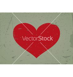 Heart sign grunge background vector by ginko13 on VectorStock®