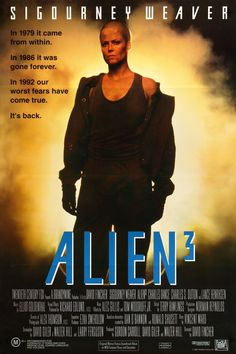 Alien 3 Movie Poster ( of Famous Movie Posters, Horror Movie Posters, Famous Movies, Cinema Posters, Movie Poster Art, Film Posters, Horror Movies, Science Fiction, Fiction Movies
